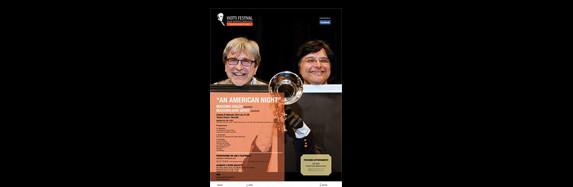 """Teatro Civico Vercelli """"An American Night""""        VIAZZO – GENOT"""