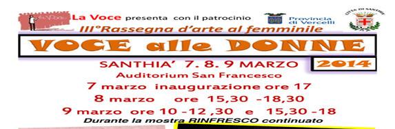VOCE alle DONNE 2014 -Santhià