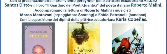 IL GIARDINO dei POETI QUANTICI -Roberto Malini a Milano