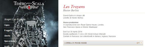 LES TROYENS – Teatro alla Scala – Milano