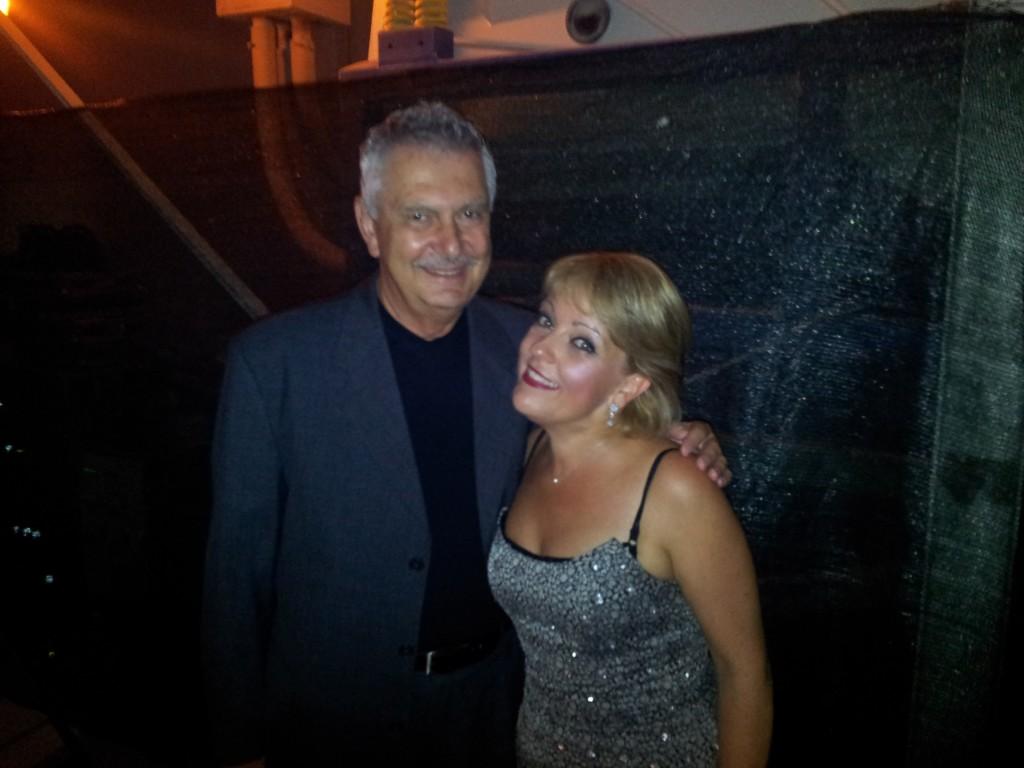 Renzo Bellardone con Gemma Bertagnolli