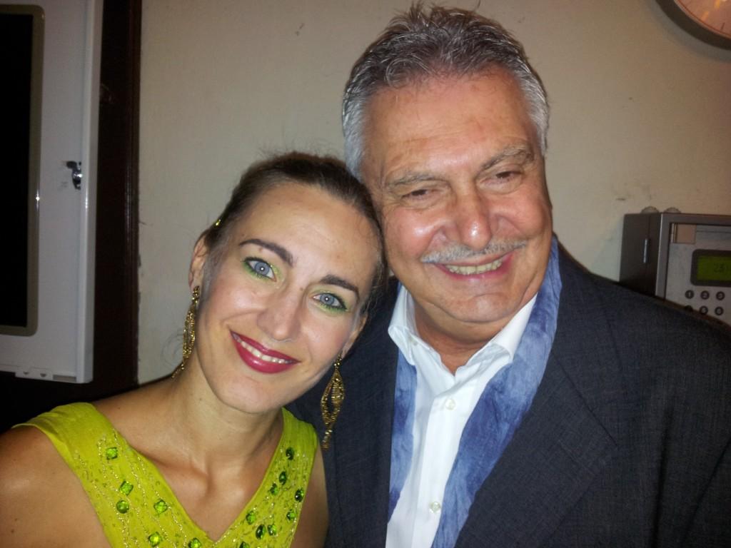 Marina Bartoli e Renzo Bellardone.Baveno 2014