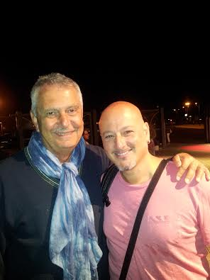 Renzo Bellardone con Antonino Siragusa