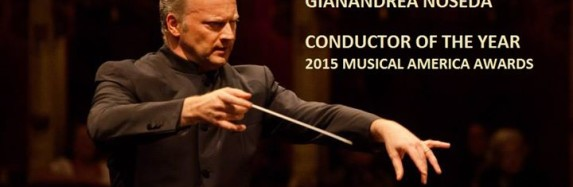 GIANADREA NOSEDA – Conductor of the year 2015