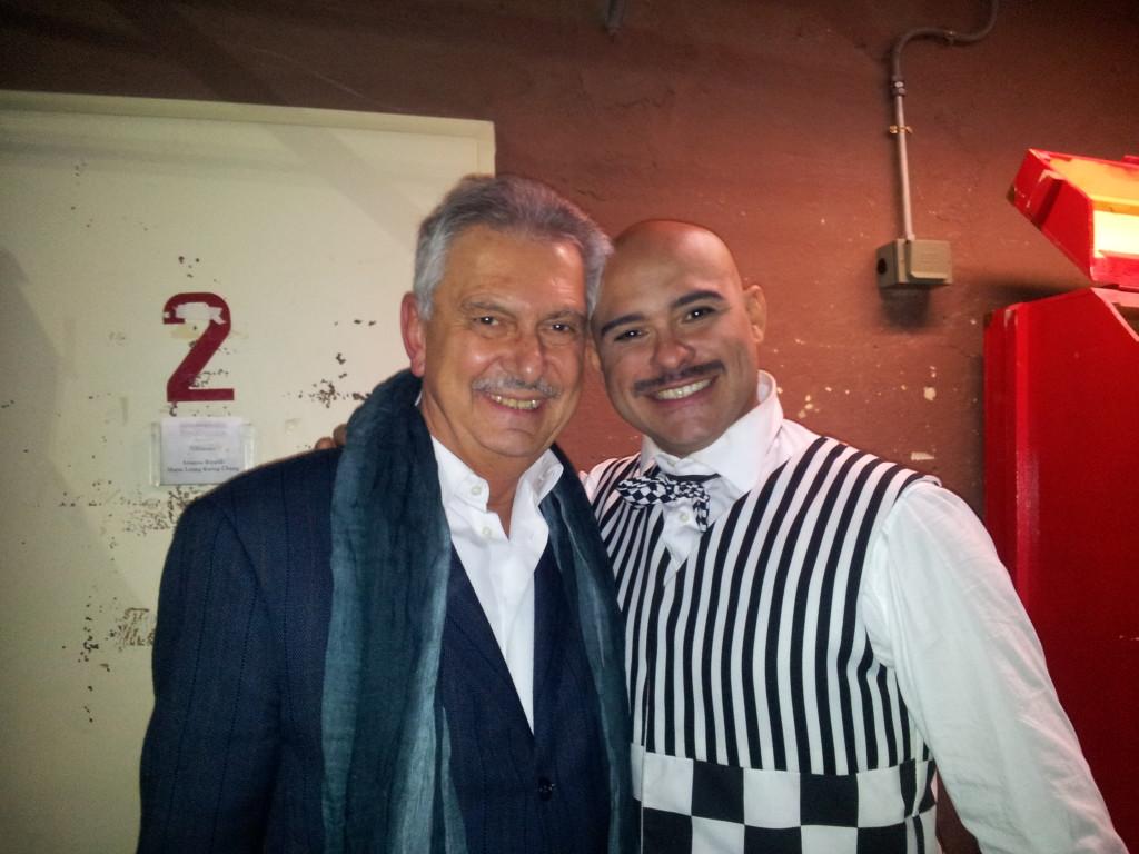 Renzo Bellardone con Max Jota